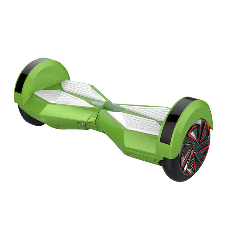 Two Wheel Self Balancing Electric Scooter Two 8 inch Smart Wheel with Remote Key Skateboard Walk Car