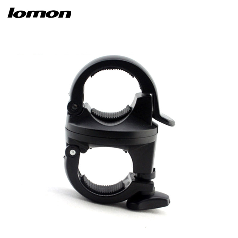 Lomon Flashlight Holder Bicycle Bike U-shaped Clip P64