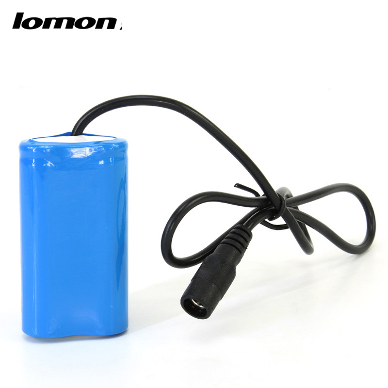 Lomon Bike Light 2x18650 Battery Pack 3.7V T0152