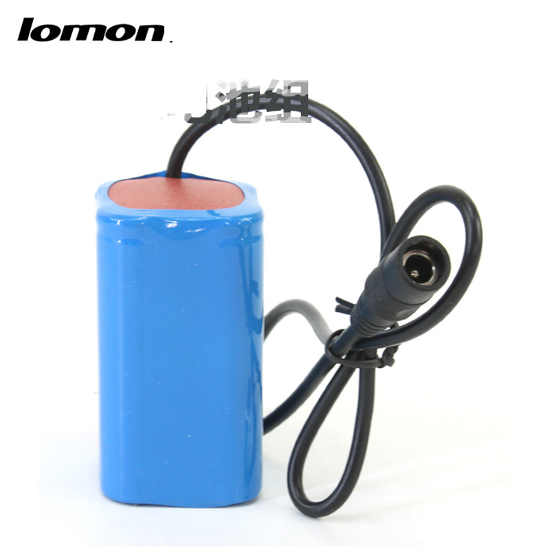 Lomon Bike Light 4x18650 Battery Pack 3.7V T0148