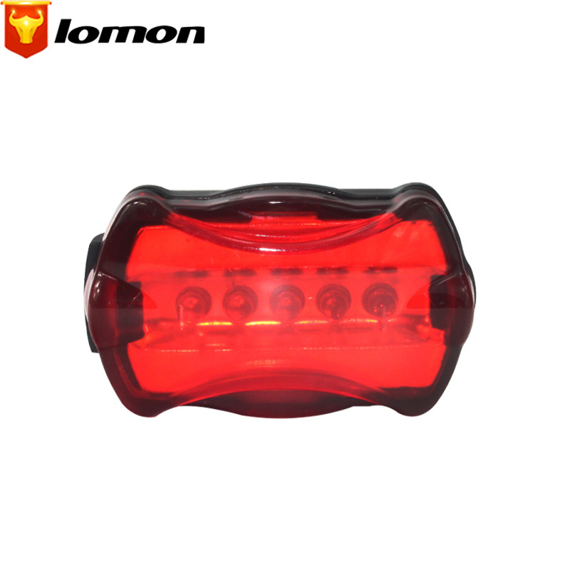 Lomon Mountain Road Bike Cycling Tail Light Waterproof Warning Lamp Outdoor Sports Bicycle Accessories Q2005