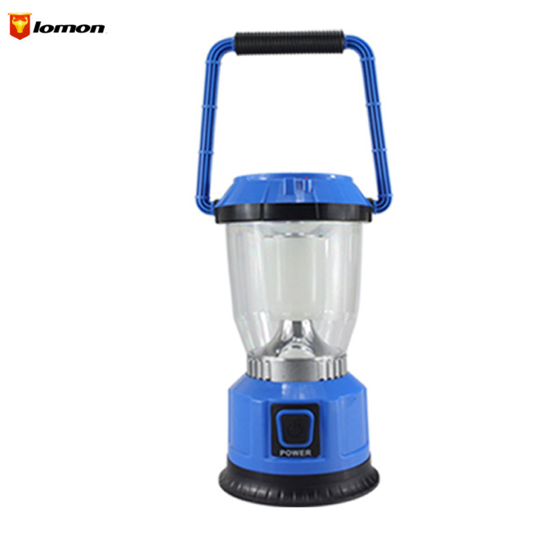 Lomon 6LED Outdoor Camping Tents Lamp Lantern Solar Lamp Lighting Rechargeable Lamp Q1019