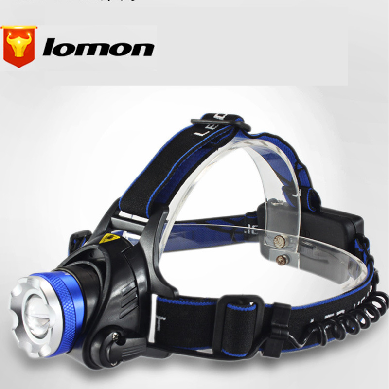 Lomon T6/Q5 LED CREE Outdoor Explosion-proof Charging Headlamps Q3004