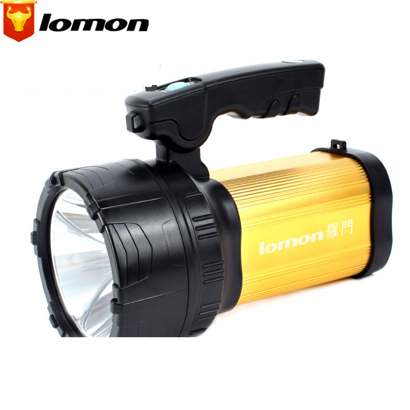 Lomon T6 LED Flashlight Rechargeable Long-range Searchlight Q1002