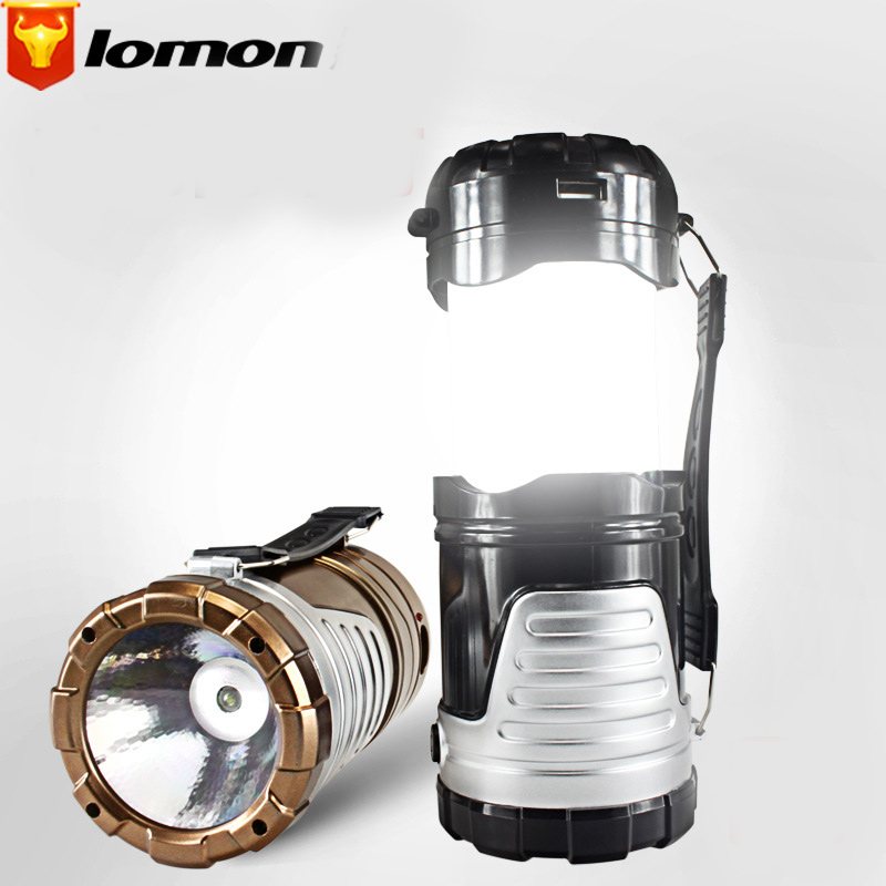Lomon LED Outdoor Camping Lights Solar Lights Q1035