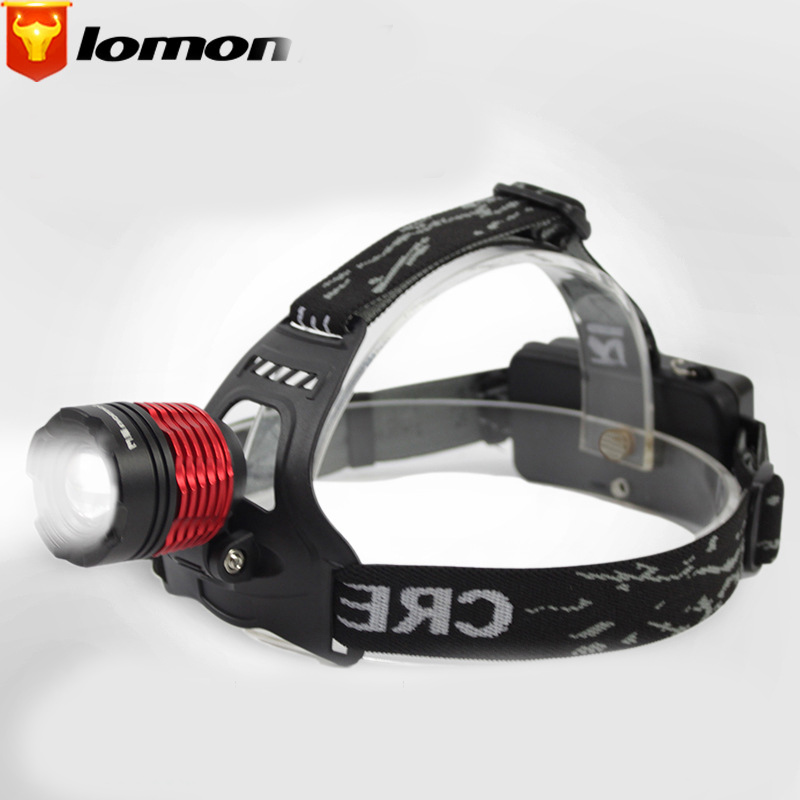 Lomon Outdoor Hunting Zoom Headlight Headlights Plastic Lighting Headlights Q3002