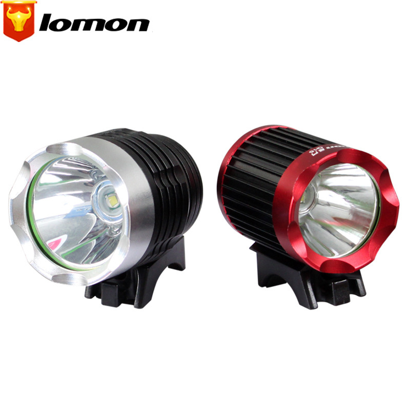 Lomon USB Charging Mountain Bike Lights T6 Bicycle Cycling Equipment LED Outdoor Bike Lights Headlights Q2015