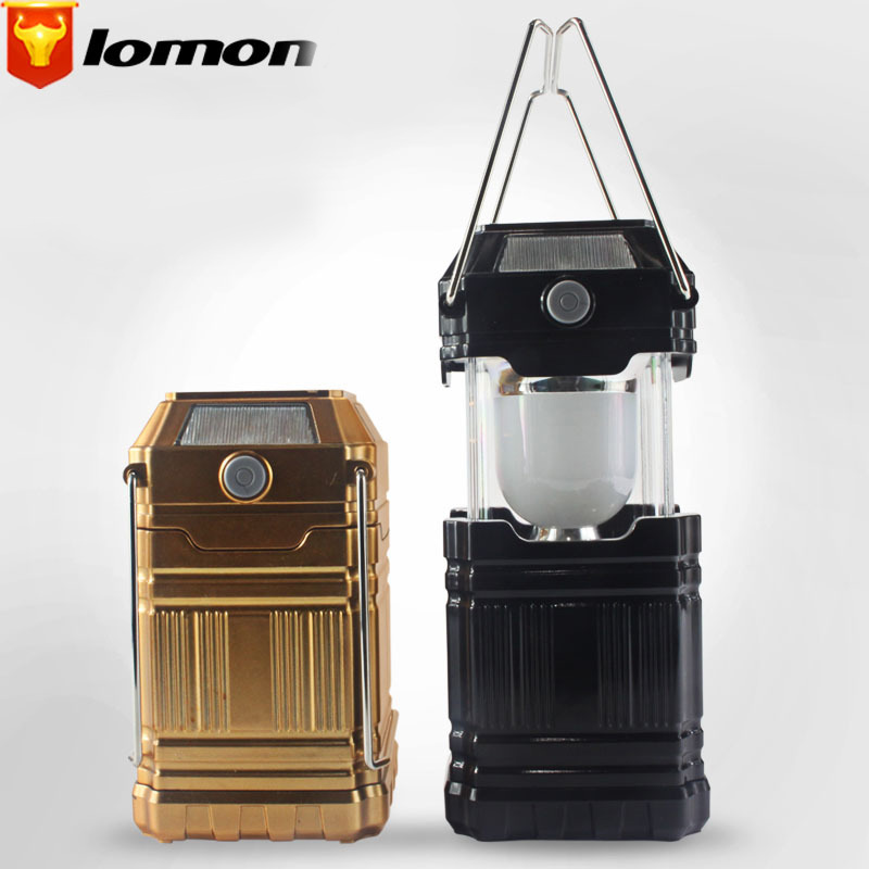 Lomon Outdoor Lantern Camping Lights Portable Emergency Lights Solar Charging Lights T1043