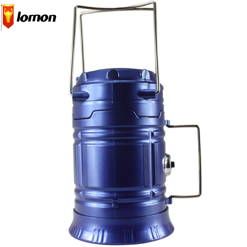 Lomon Outdoor Lantern Camping Lights Portable Emergency Lights Solar Charging Lights Q1034