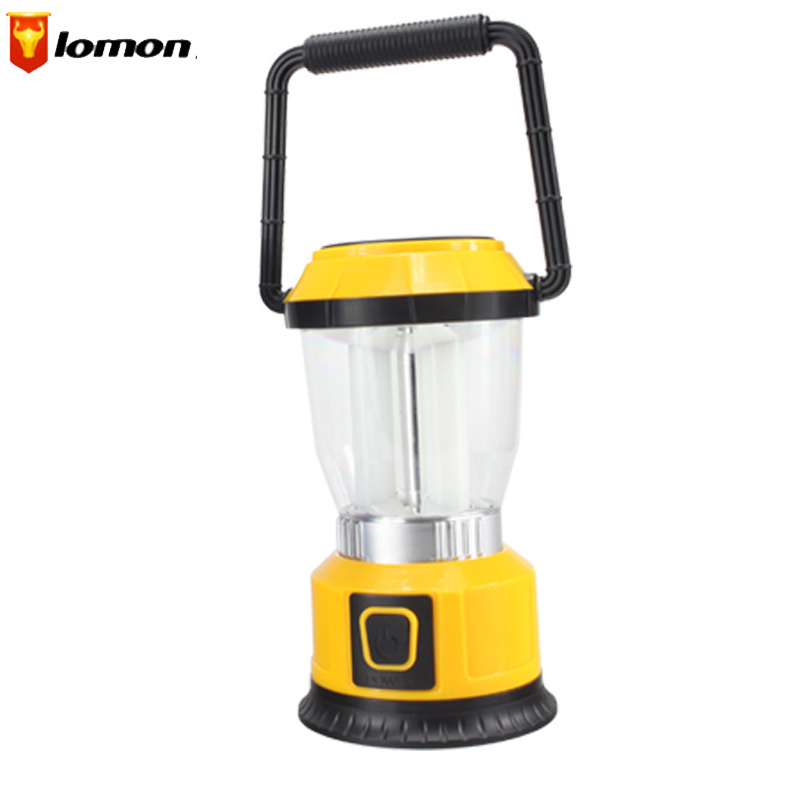 Lomon 3W Outdoor Camping Tents Lamp Lantern Lighting Rechargeable Lamp Q1020