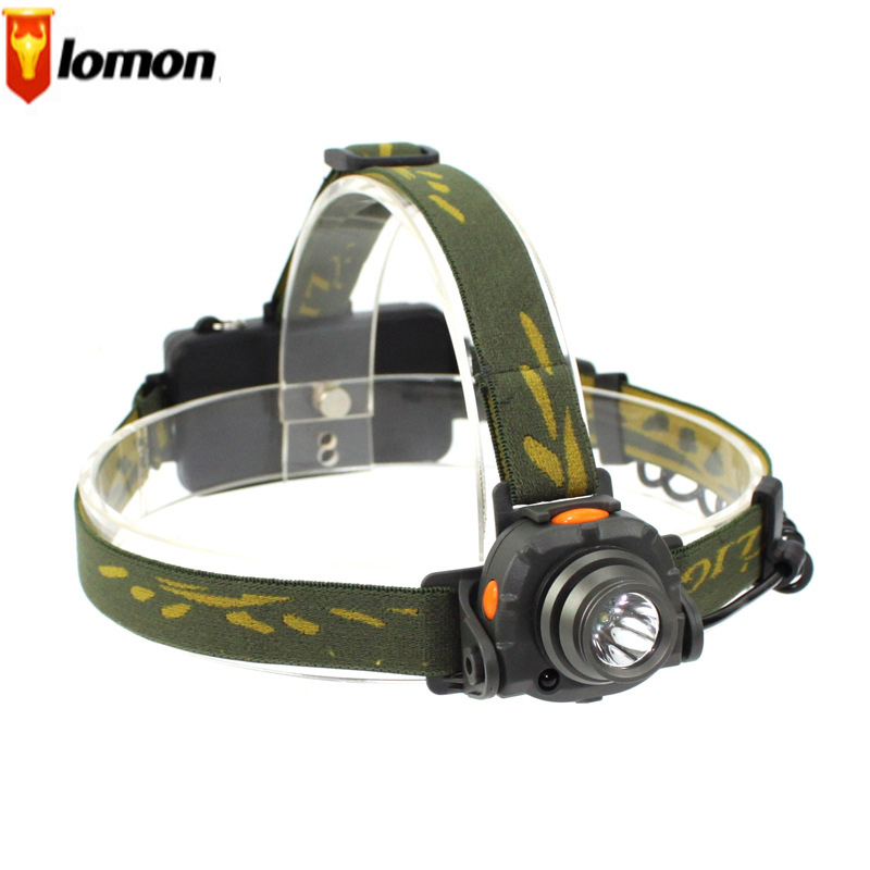 Lomon Waterproof CREE Rechargeable Headlamps For Bicycle Camping Hiking Q3012