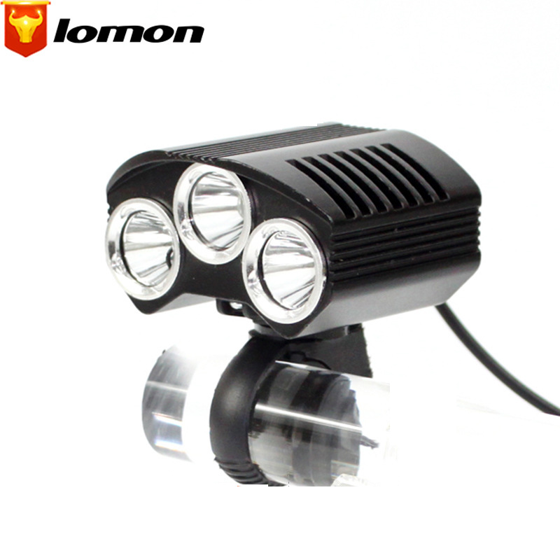 Lomon Cycling Mountain Bike headlight Flashlight Rechargeable Night Riding Equipment Headlights Q2019