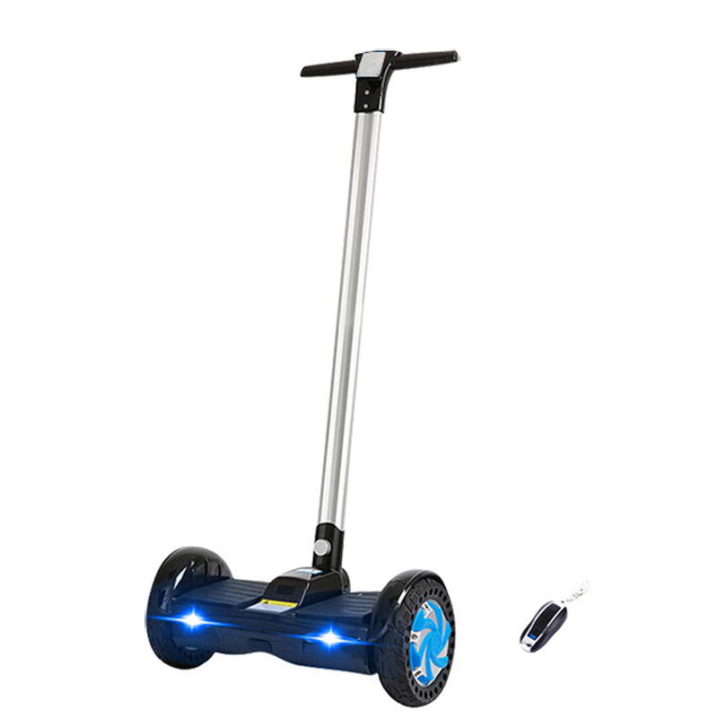 Hot Sale 8 inch Electric Self Balancing Scooters Two Wheel Smart Standing Scooters Hoverboard Skateboard Handle Bar F1 UERA-ESU0