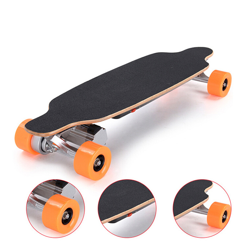 Bluetooth Wireless Remote Control Electric Scooter Skateboard 4 Wheels Hoverboard UERA-ESU019