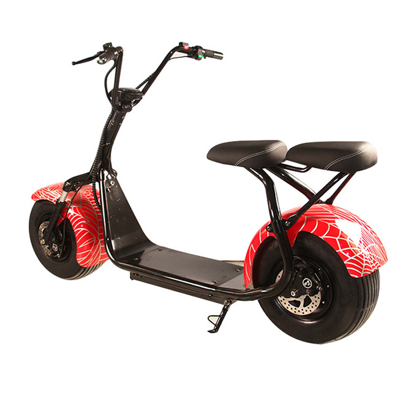 Harley Electric Car Wide Tire Road Vehicle Electric Bicycle Lithium-ion Battery Halley Electric Scooters