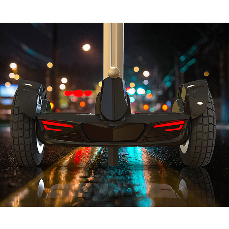 10 inch Electric Self Balancing Scooters Two Wheel Smart Standing Scooters Hoverboard Skateboard Handle Bar ESU011-1