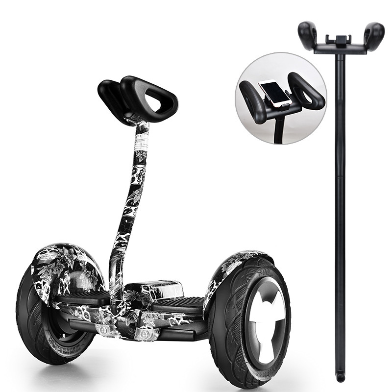 Hoverboard 10 Inch Handle Bar Self Balancing Scooters Two Wheel Skateboard Smart Electric Scooter Skateboard AIJI-MINI