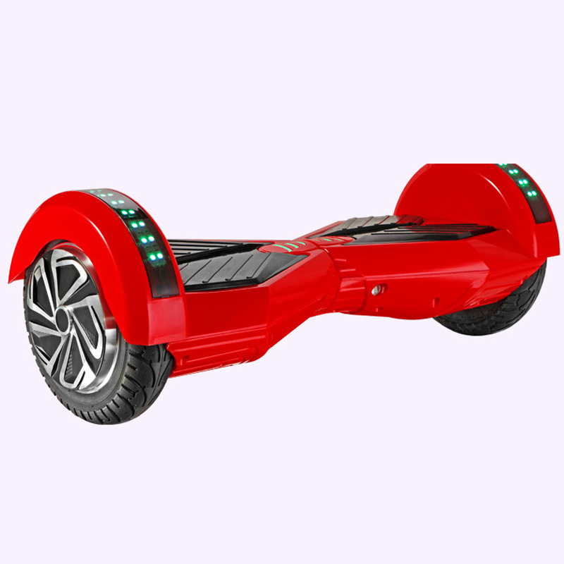 Bluetooth Music LED Hoverboard 2 Wheel Self Balancing Electric Scooter with Remote Key Skateboard Walk Car S&S-ESU013