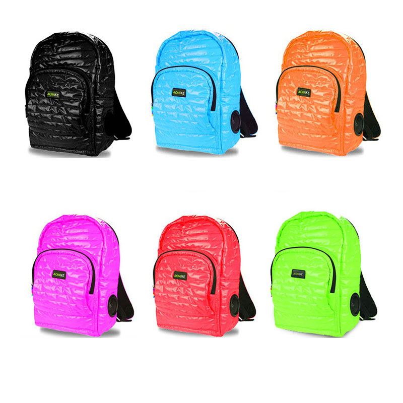 The Latest Fashion Outdoor Sports Multi-function Speaker Backpack Beautiful Color Backpack