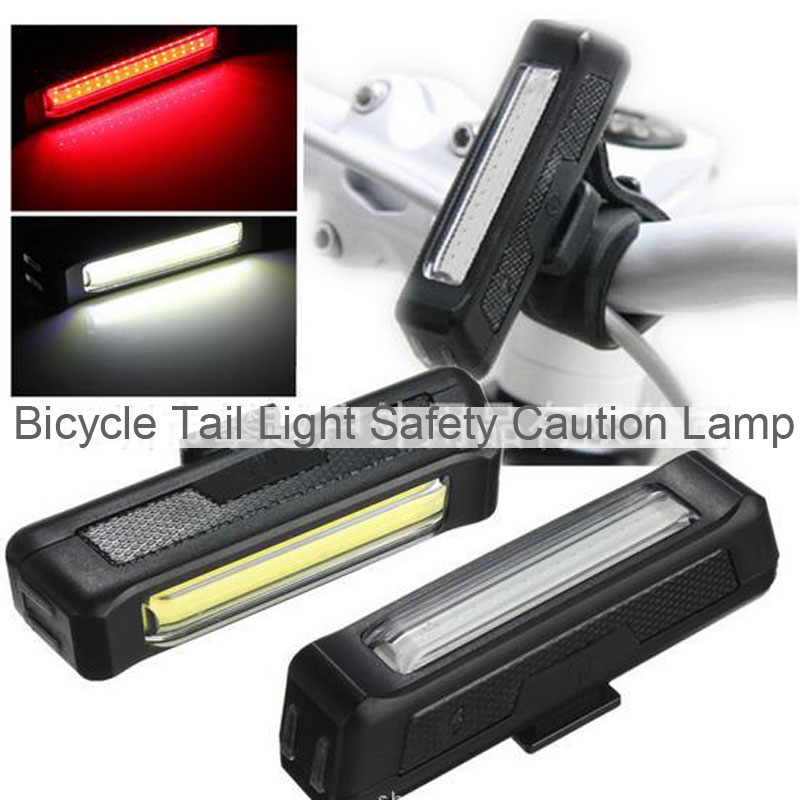 Bicycle Tail Light Safety Caution Lamp
