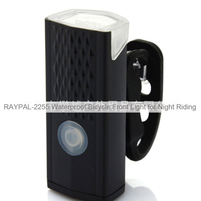 RAYPAL-2255 Waterproof Bicycle Front Light for Night Riding