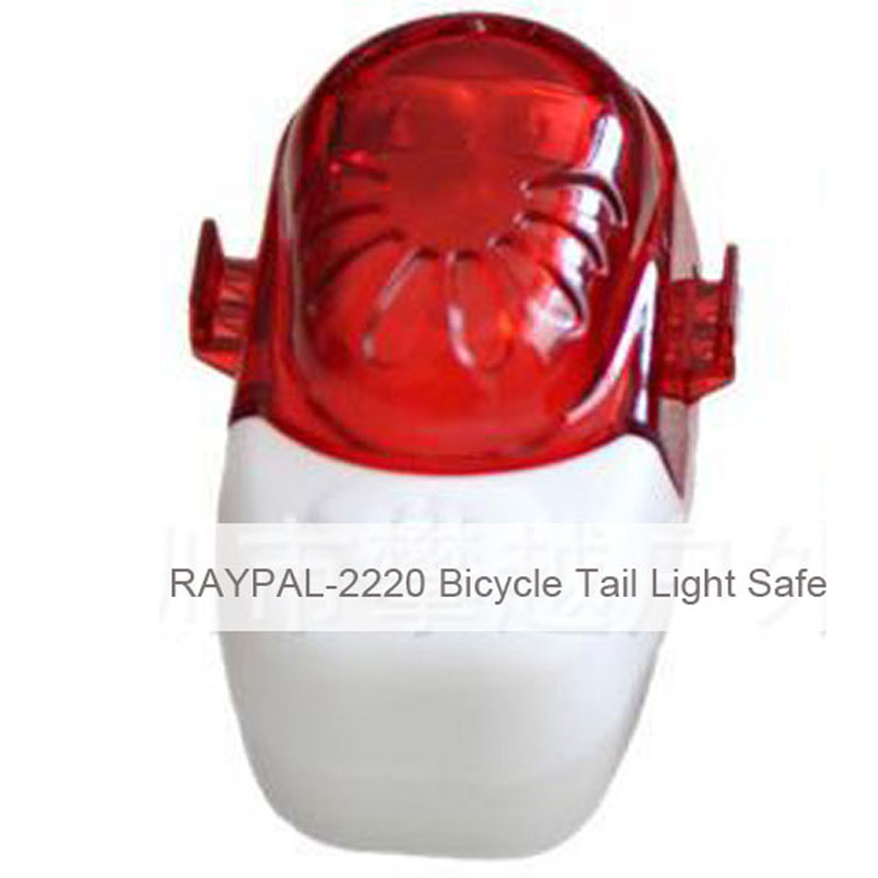 RAYPAL-2220 Bicycle Tail Light Safety Caution Lamp for Night Riding