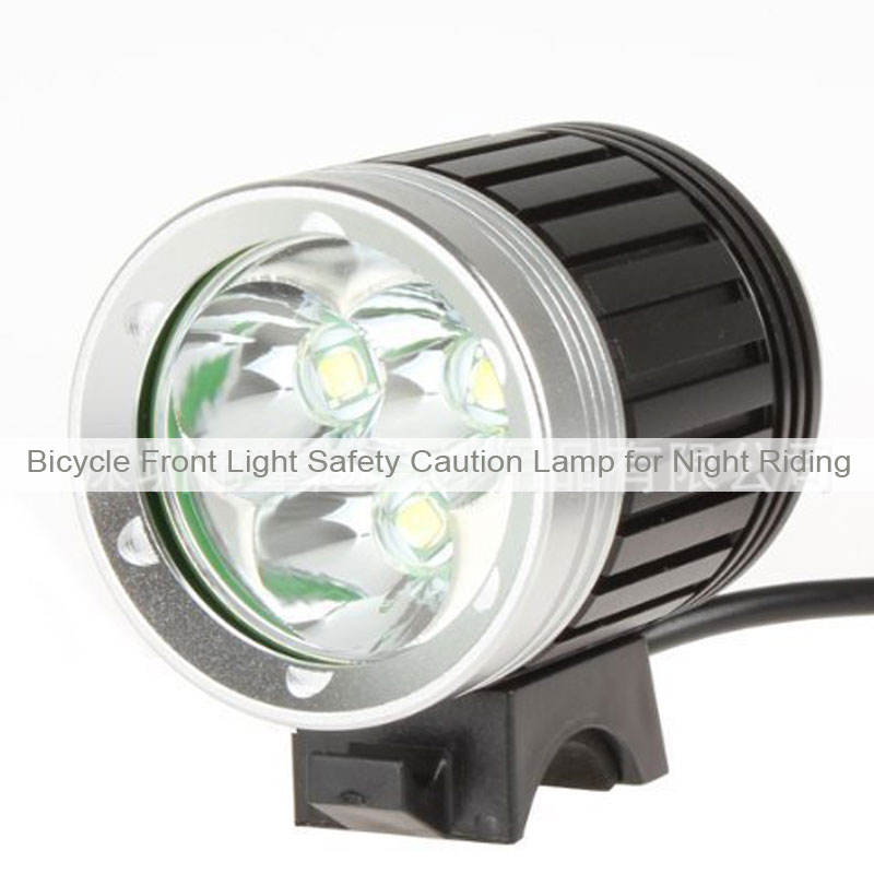 3T6 Bicycle Front Light Safety Caution Lamp for Night Riding