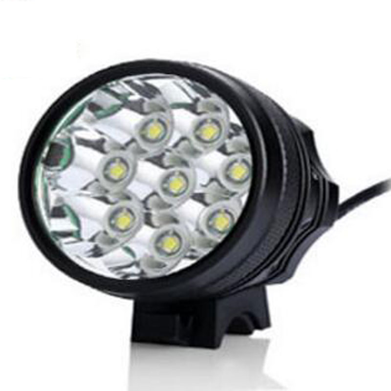 Safety Caution Lamp Bicycle Night Riding Front Light CREE/8T6