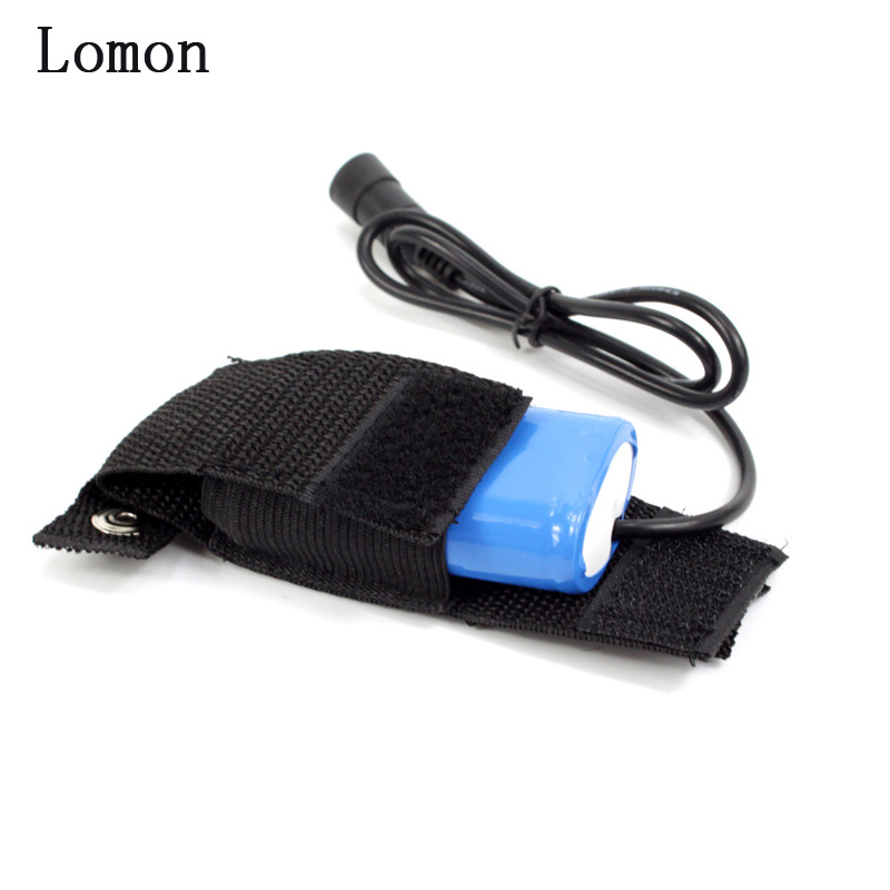 Lomon Oxford Cloth Battery Storage Box Black For Bike Bicycle Battery P46