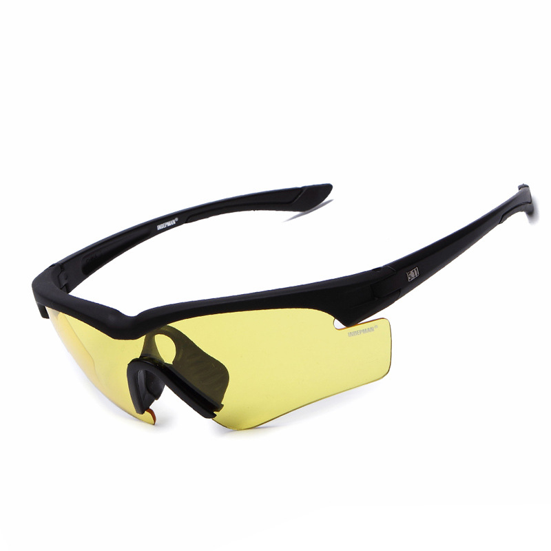 New Style Yellow Protective Hiking Sunglasses for Riding Cycling Sport Sunglasses DL-YJ510