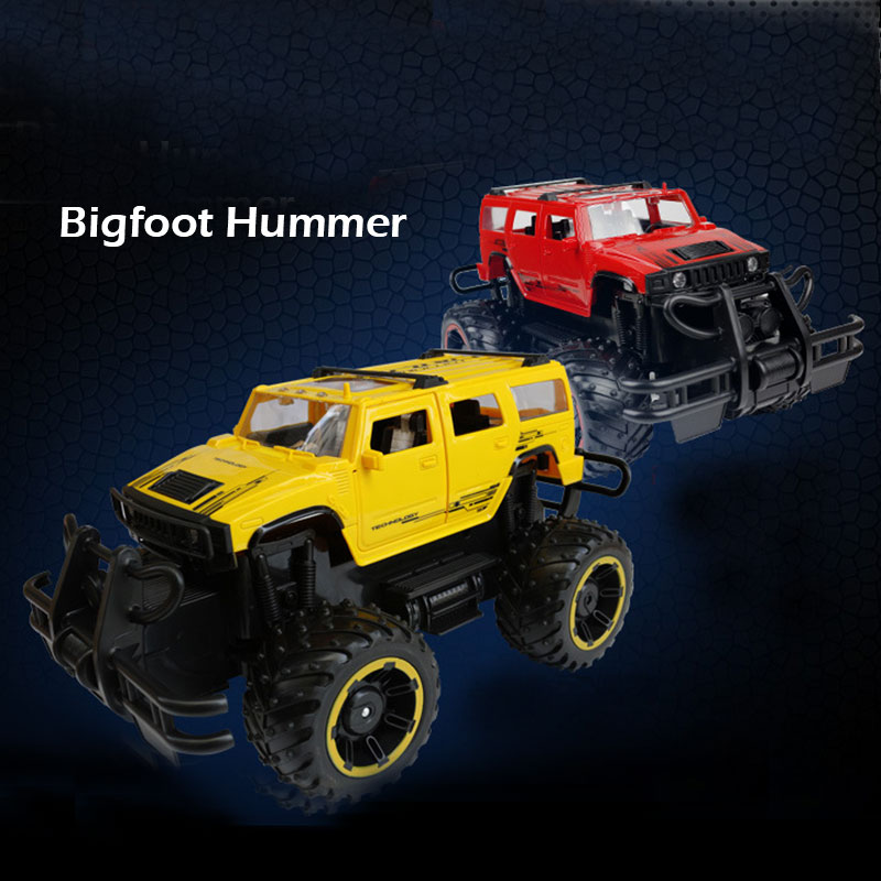RC Car 2.4GHz Rock Crawlers Rally climbing Car Off-Road Vehicle Toy 4x4 Double Motors Bigfoot Car Remote Control Model