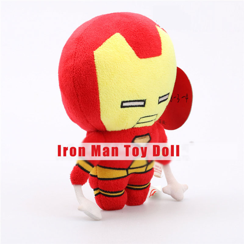 Iron Man Plush Toys Different Heights Creative Cartoon Dolls for Children