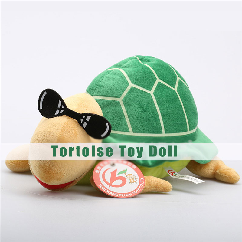 Tortoise Plush Toys Different Heights Cute Cartoon Dolls for Children