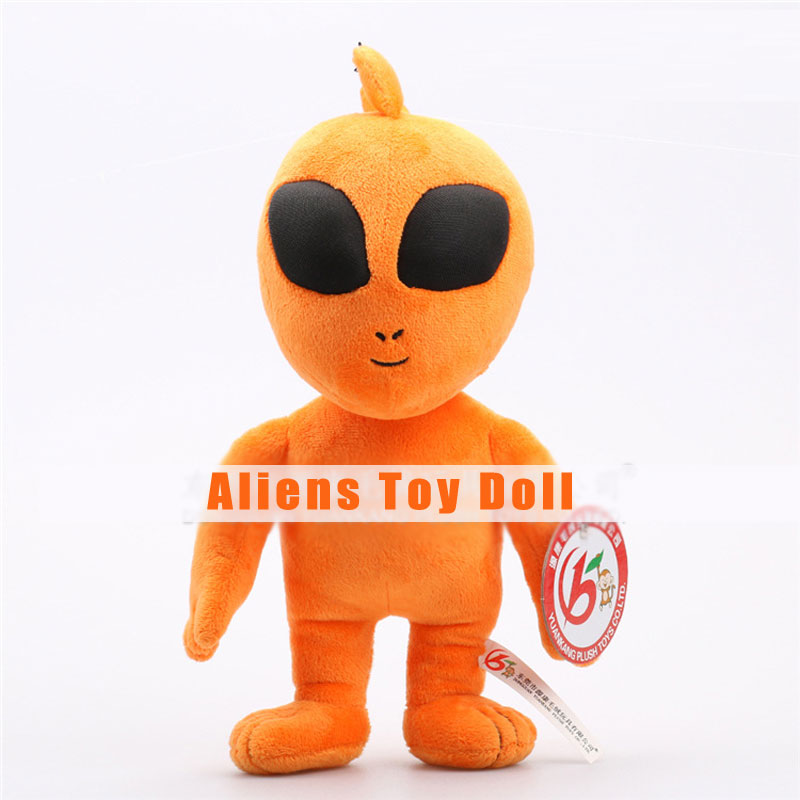 Plush Aliens Toys Orange Creative Cartoon Dolls for Children