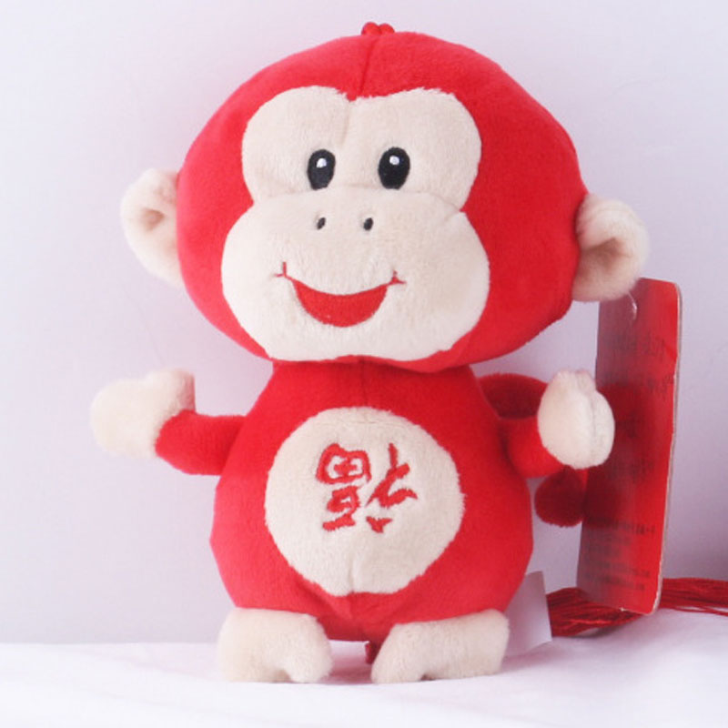 Monky Plush Toys Different Heights Different Colors Dolls