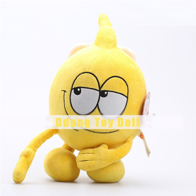 Ddung Toys Yellow Big Eyes Cartoon Dolls for Children