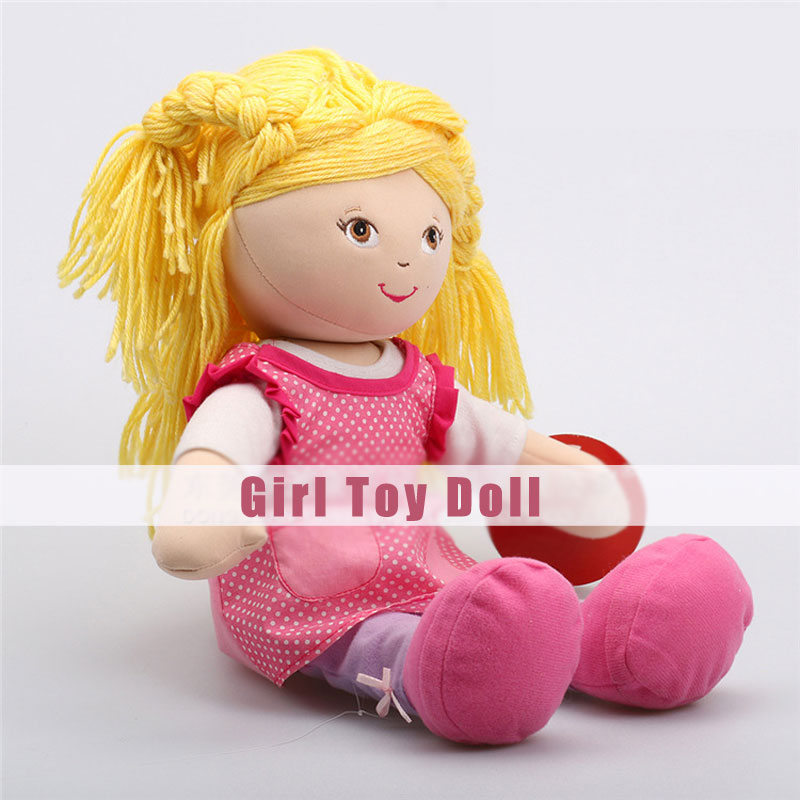 Beautiful Doll Girl Plush Toys Different Heights Character Dolls