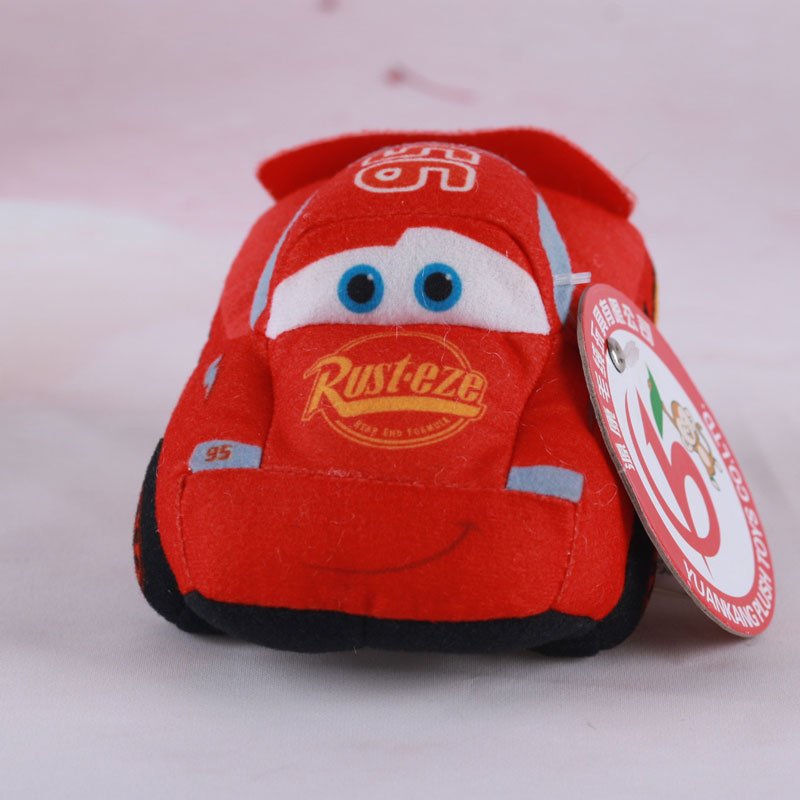 Super Cool Red Car Plush Toy Custom Made Good Gift for Child