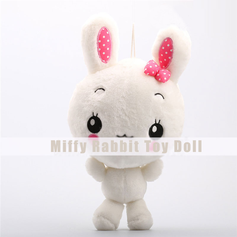 Miffy Rabbit Plush Toys Cute Lovely Animal Dolls for Children