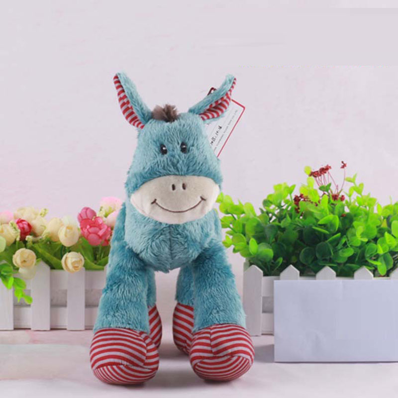 Lovely Pony Plush Toys Cute Animal Dolls for Children