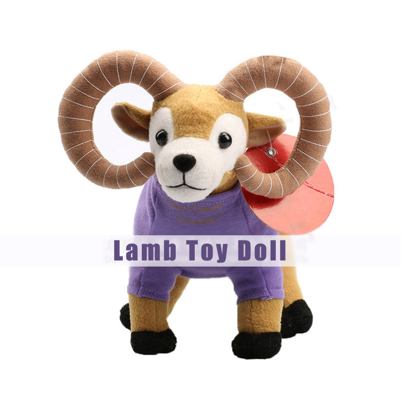 Blue/Purple Lamb Plush Toys Super Cute Baby Doll Gift