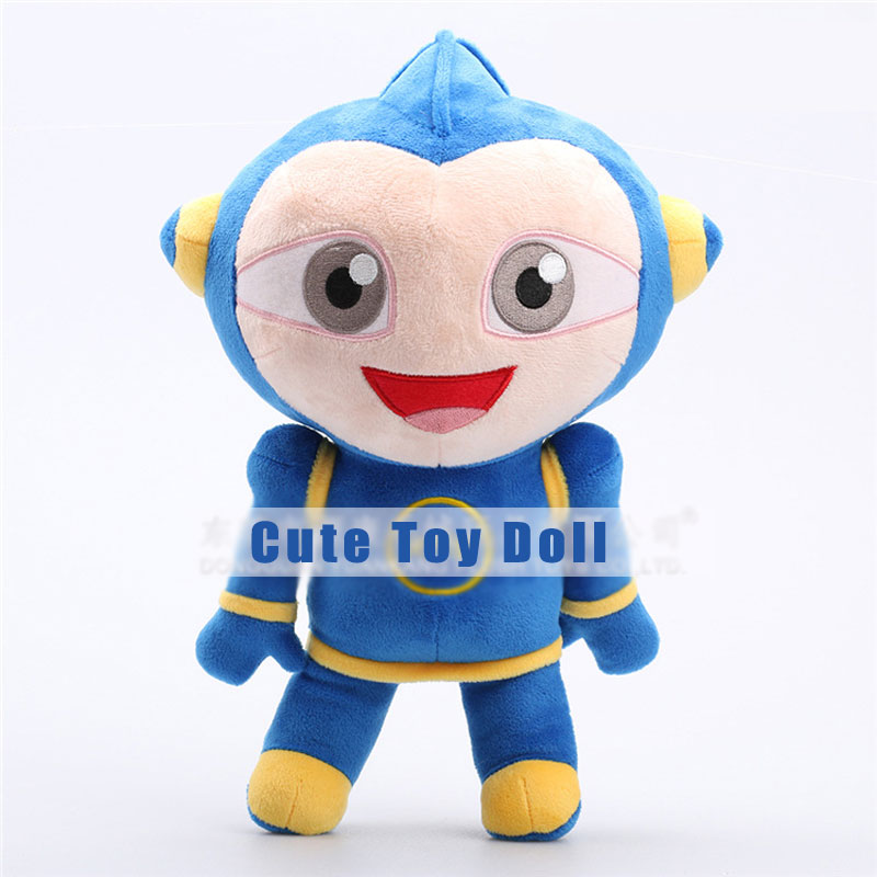 Creative Cute Blue Big Eyes Plush Toy Doll Kids Toy for Children