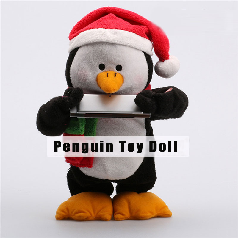 Adorable Penguin Plush Toy Super Soft Kid's Christmas Gifts