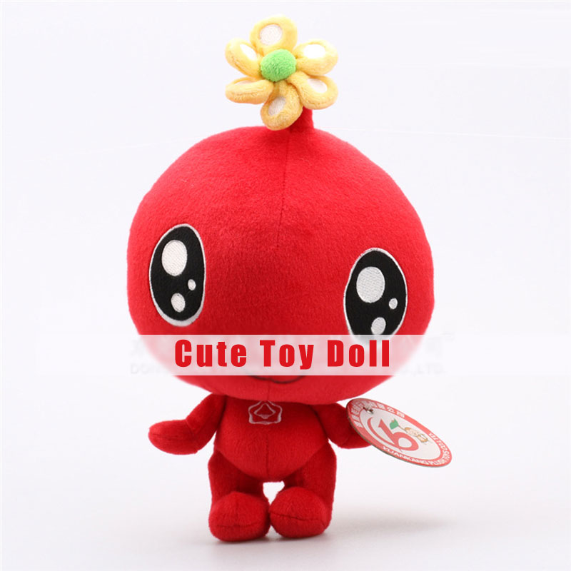 Creative Cute Red Big Eyes Plush Toy Doll Kids Toy for Children