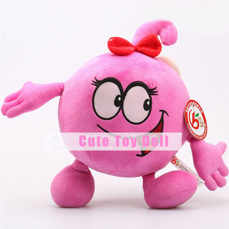 Rose Red Cute Delightful Games Mascot Plush Toys Different Heights Dolls