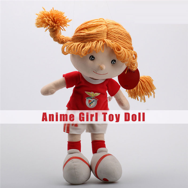 Creative Anime Girl Plush Toys Different Heights Character Dolls