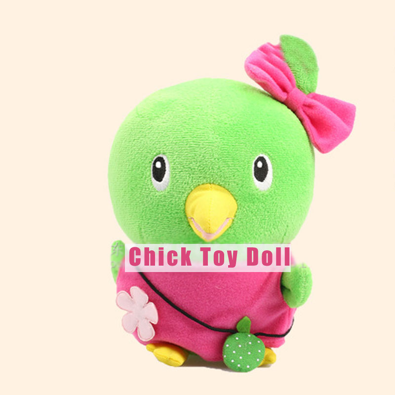 Kawaii Chick Plush Stuffed Toys Soft Animal Chicken Dolls For Girls Boys