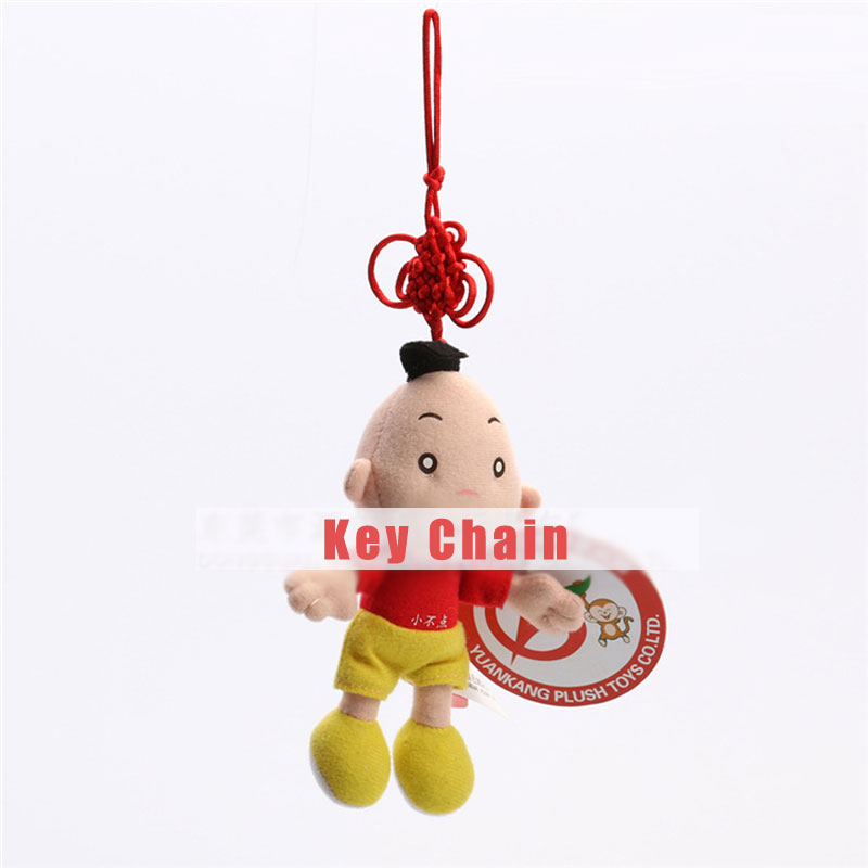 Little Boy with Clothes and Chinese knot Dolls Toy Key Chain