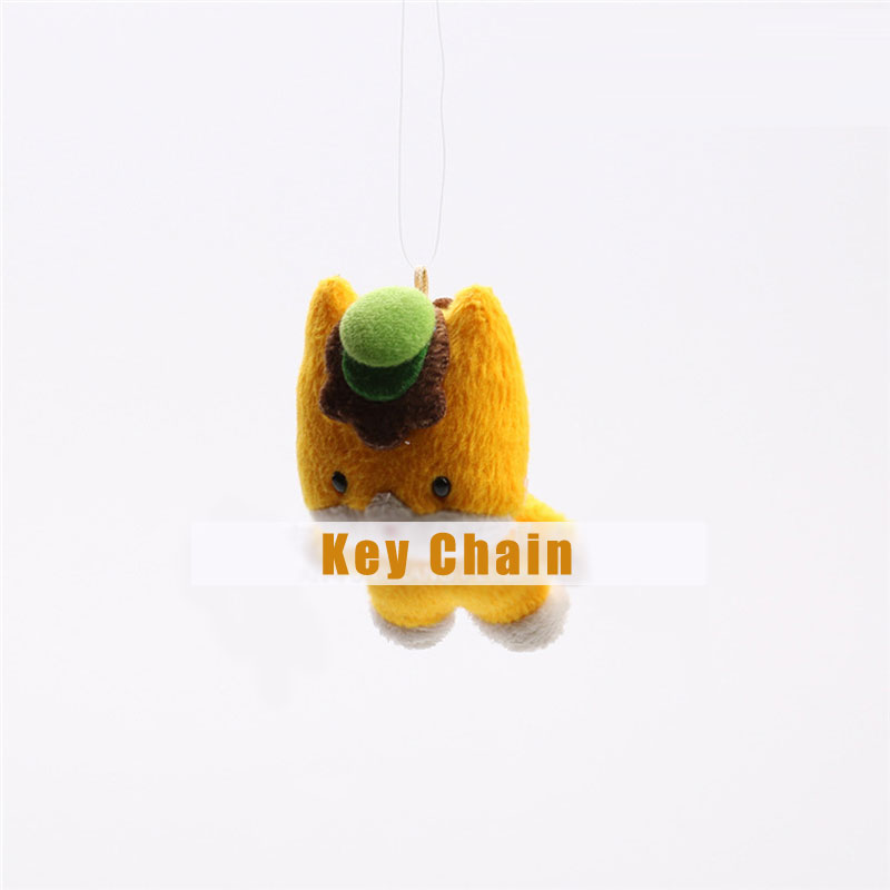 Cute Bear Plush Toy Doll Keychain Kawaii Stuffed Toys for Kids