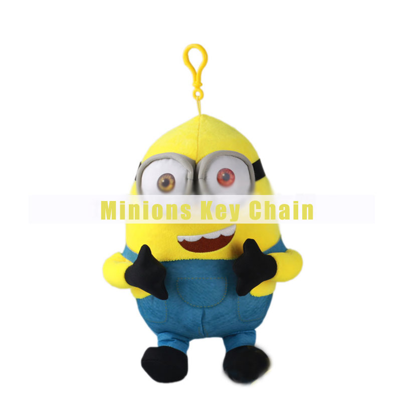 Minions Doll Key Chain Kids Toy Gift Birthday Party Favor
